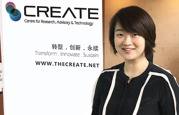 Ng Yeen Seen, the CEO of Centre for Research, Advisory & Technology (CREATE)