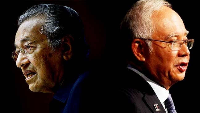 Mahathir needs Najib to be in jail by hook or by crook.