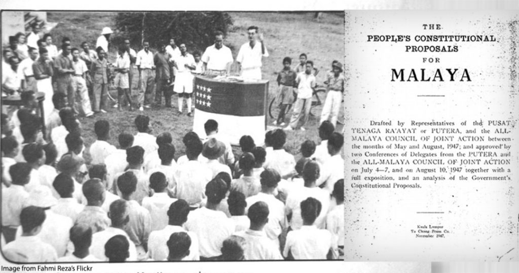 The People's Constitutional Proposals for Malaya. Article by Yuktes Vijay