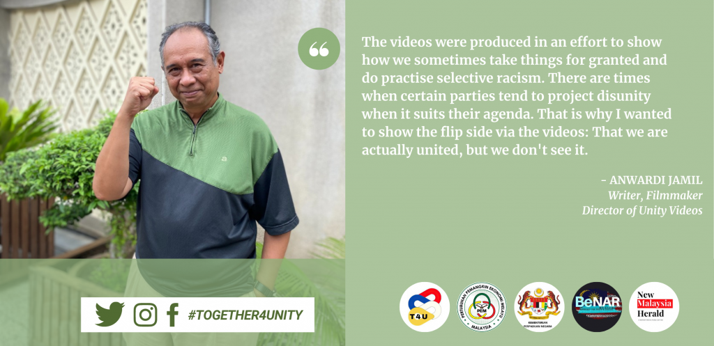 Anwardi Jamil - Unity Video for Ministry of Unity at the New Malaysia Herald